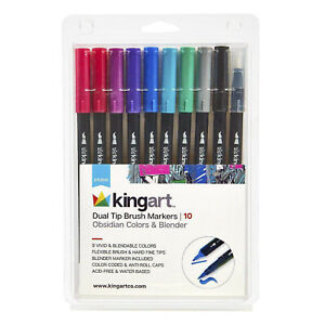 10count Permanent Markers Black  2 Sets Of 10 Markers