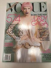 LADY GAGA Vogue Magazine 3/11 MARCH 2011 EMMA STONE SANDRA LEE  HOT