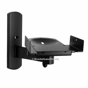 Side Clamping Bookshelf Monitor Speaker Wall Mounts
