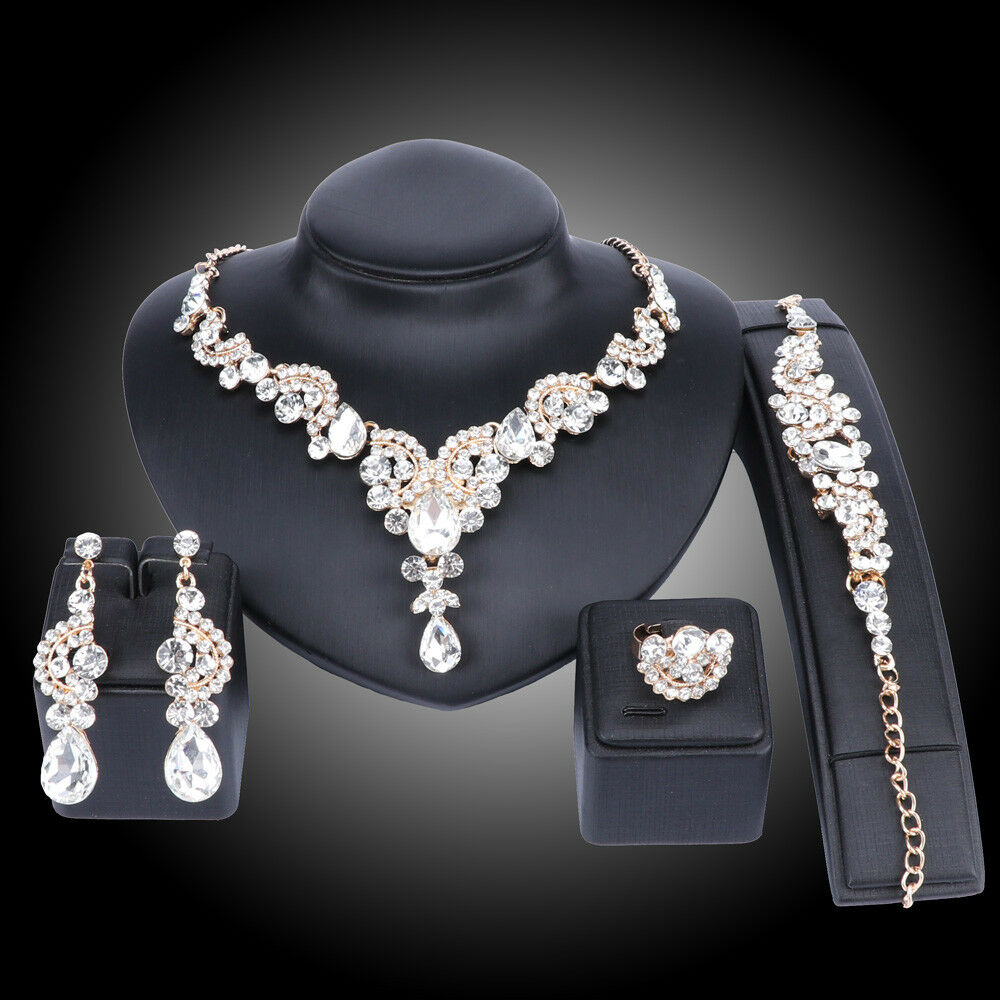 Novelty Jewellery Todop Silver Ladies Earrings And Necklace