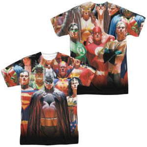 DC-Justice-League-JLA-Wall-of-Heroes-Group-Team-Sublimation-Front-Back-T-shirt