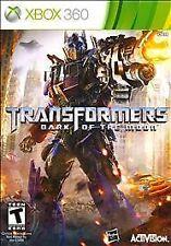 Transformers: Dark of the Moon (Microsoft Xbox 360, 2011 new condition movie fun