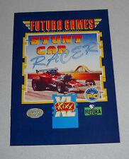 MANUALE Gioco Pc STUNT CAR RACER - Futura Games Kixx XL 1994 ITA