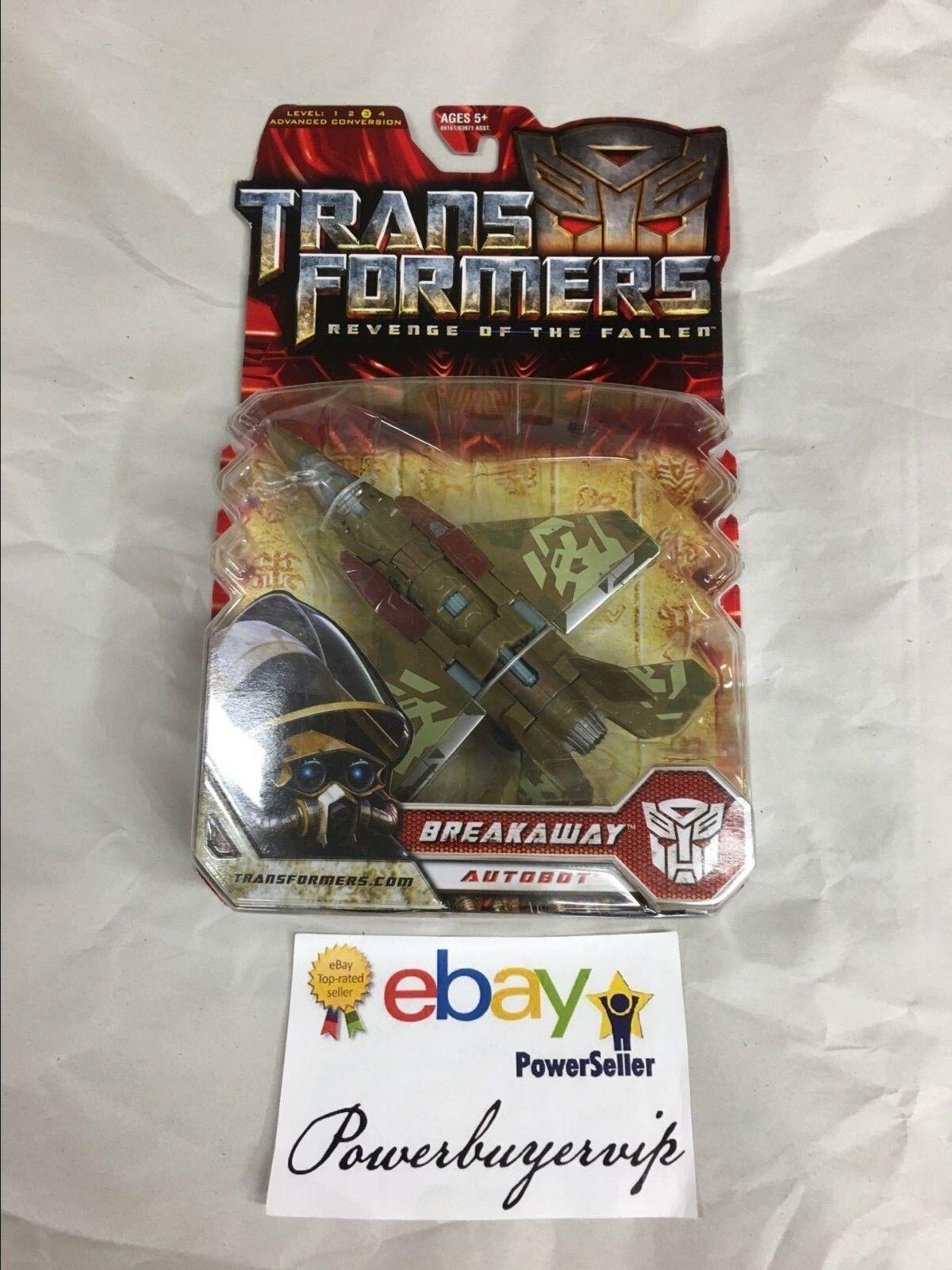 NEW Transformers Deluxe Autobot Breakaway redF Revenge of the Fallen 2 DAY GET