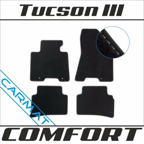 Fussmatten Autoteppiche COMFORT 2015 Hyundai Tucson III Bj