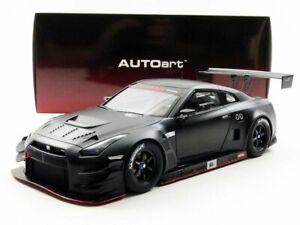 AUTOart-1-18-Nissan-GT-R-NISMO-GT3-Matt-Black-model-car-NEW-from-Japan