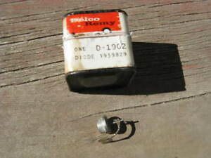 Details about NOS Delco Remy alternator diode for 1960s-70s Chevrolets &  other GMs, in the box
