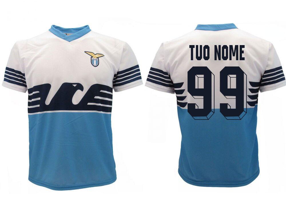 Camiseta Lazio Personalizado 2019 Prodotto Ufficiale SS Lazio Home aquila Nome
