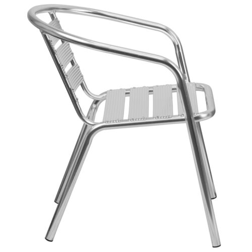 Heavy Duty Commercial Quality Indoor or Outdoor Aluminum Restaurant Chair