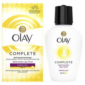 Olay-Complete-Lightweight-3in1-Moisturiser-Day-Fluid-SPF15-normal-oily-100ml
