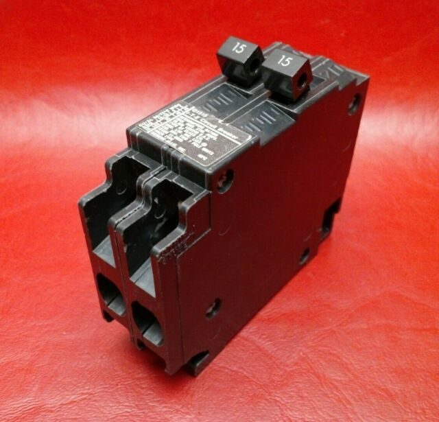 Siemens Q1515 tandem ciruit breaker 15 amp 15 amp twin NEW