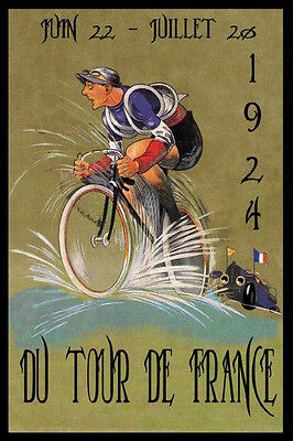 Tour de France Bicycle Bike Cycles 1924 Race French ...
