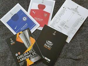Europa-League-Final-Arsenal-vs-Chelsea-LIMITED-Official-Programme-TEAMSHEET