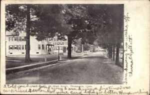 Thomaston-CT-High-St-c1905-Used-Postcard