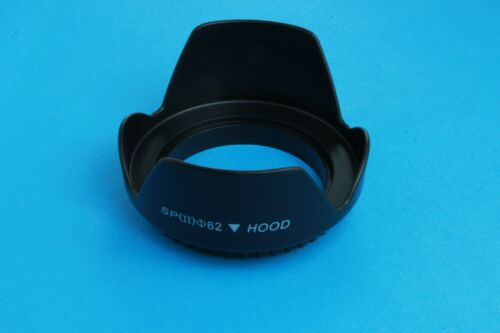 Lens Hood 62mm Tornillo de pétalos de flores para Nikon Nikkor Z 35mm Lente F1.8 S
