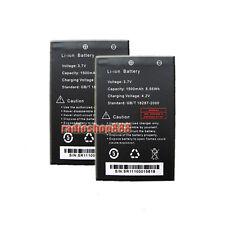 2 x BAOFENG Original Li-ion Battery for UV-3R UV-200 UV-3R mark II