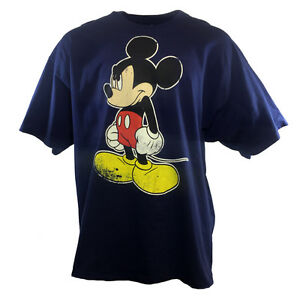 62c95c8be3f Men's T Shirt 3XL Mickey Mouse Big Size Tee's Disneyland Mad Mickey ...