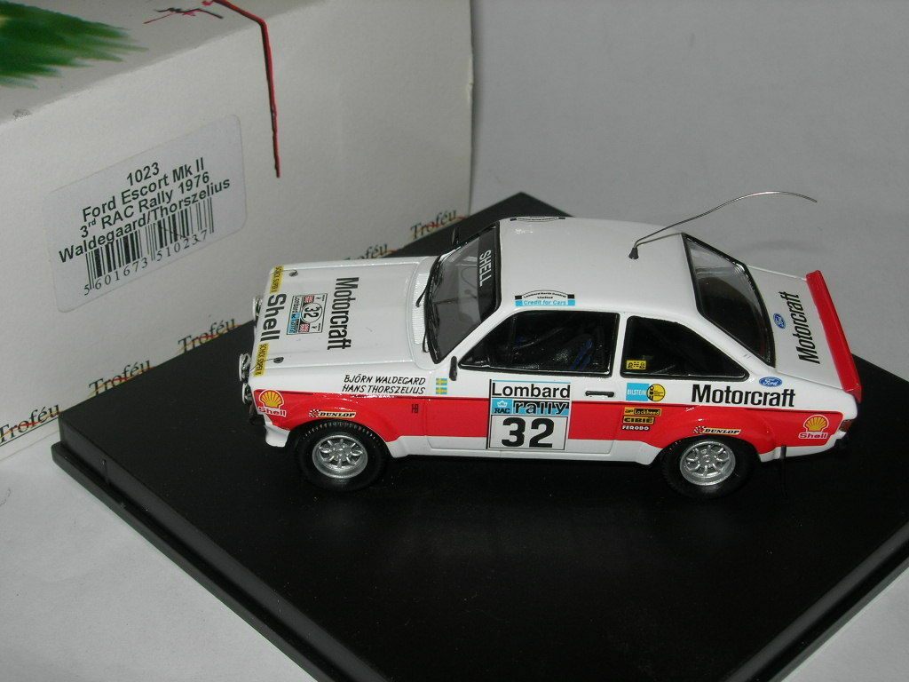 Trofeu Models 1 43 1023 Ford Escort MkII rd Rac Rally 1976 NEW