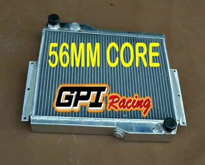 FOR 56MM  MG MGB GT V8 1973-1976 1975 HI-FLOW HEAVY-DUTY ALUMINUM RADIATOR
