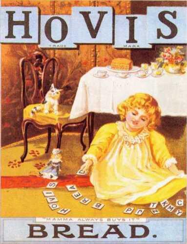 Hovis Mamma toujours achète le pain Rétro Style Vintage Métal Plaque Murale Signe
