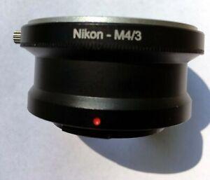 Nikon-Lens-To-Micro-4-3-Mount