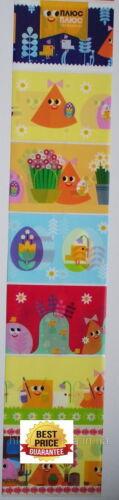 7 Oeuf de Pâques Wraps Décoration pysanka oeufs peints пасха ленты термоэтикетки на яйца!