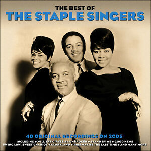 STAPLE-SINGERS-40-Greatest-Hits-Early-Gospel-Years-NEW-2-CD-Box-Set