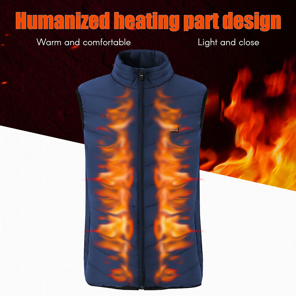 2019 Electric USB Heated Warm Security Intelligent Autumn and Winter Vest N2G8