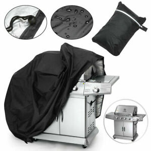 57-034-BBQ-Gas-Grill-Cover-Barbecue-Waterproof-Outdoor-Heavy-Duty-Protection-Black