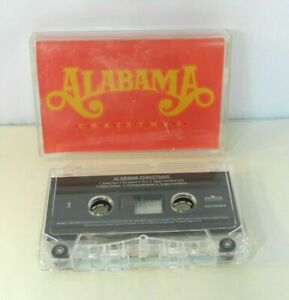 Alabama-034-Christmas-034-Music-Cassette-Tape-1998-BMG-Christmas-In-Dixie