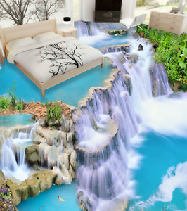 3D Fantasy Waterfall 7863 Floor WallPaper Murals Wall Print Decal 5D AU Lemon