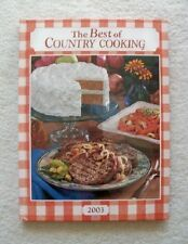 Best of Country Cooking 2003 (2003, Hardcover)