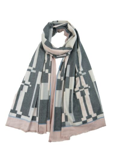 Womens Winter Warm Cashmere Cotton Blended Double Side Pashmina  Wrap Scarf