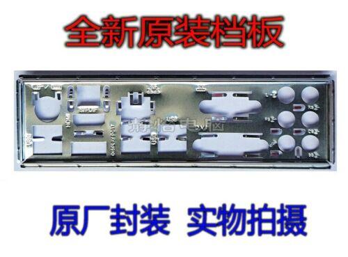 NEW Original I//O IO Shield BLENDE for MSI H97M-G43 Z97M-G43