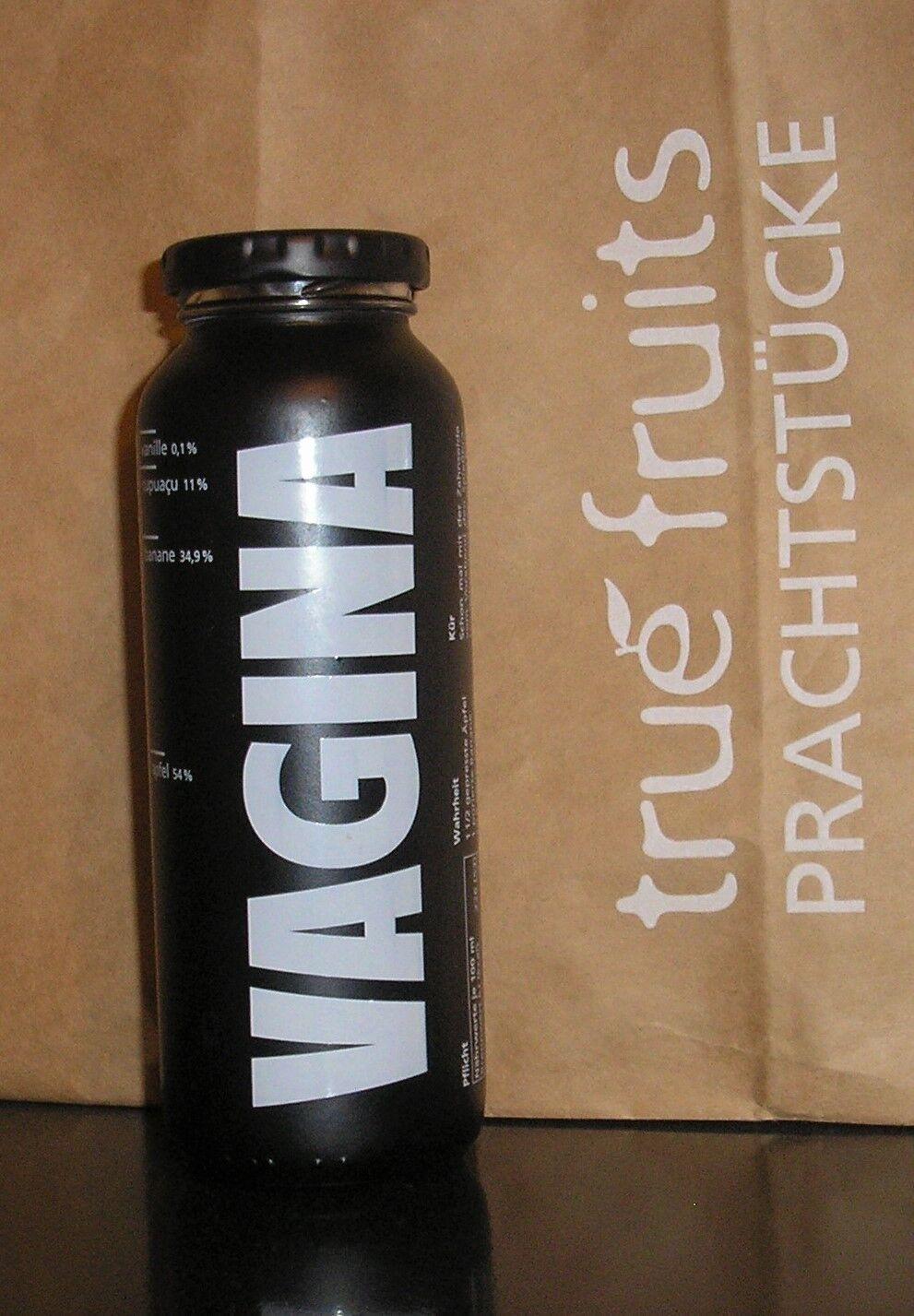True True True Fruits VAGINA Edition Vanille Sonder Edition Smoothie Flasche | Moderate Kosten  d6d596