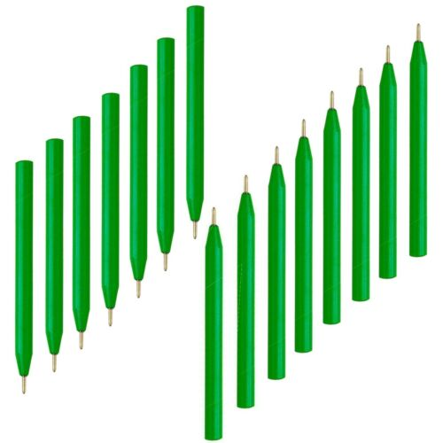 9 cm long-Triangle quinze stylos Petit Géocache stylos-Encre Noire Mini Stylos