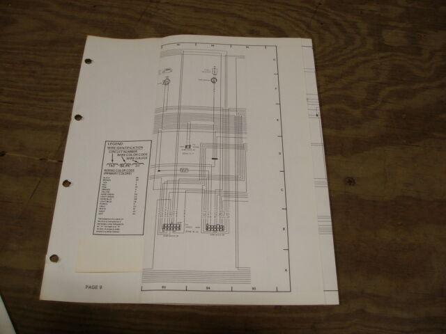1985 Ford Tempo Mercury Topaz Wiring Diagram Schematic Sheet Service Manual