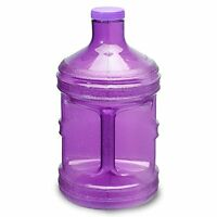 1 Gallon Bpa Free Drinking Water Bottle Jug Canteen Container Alkaline Purple