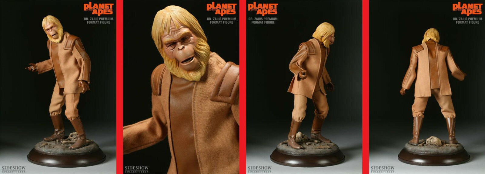 SIDESHOW –  Planet of the Apes – Dr. Zaius – Premium Format 1 4