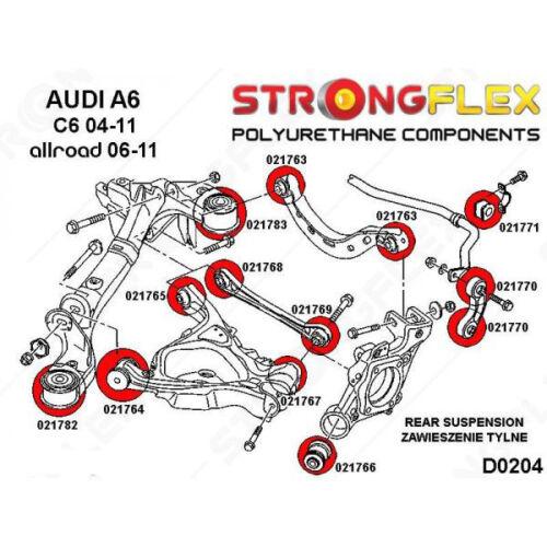 Audi A6 C6 silentblocs de barre stabilisatrice arrière 4D0511327C 4F0511327A