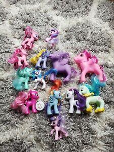 My Little Pony Ponies Figures Mixed Sizes Lot Hasbro 2010