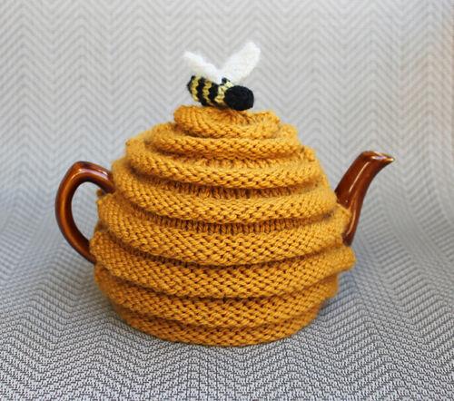 Beehive  Tea Cosy  Chunky Wool  Knitting Pattern