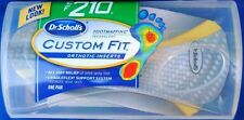2 Dr. Scholls Custom Fit Orthotic Inserts CF210
