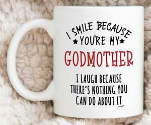 Godmother Gifts Godmother Mug Best Godmother Gift Funny Godmother Coffee Mug Ebay