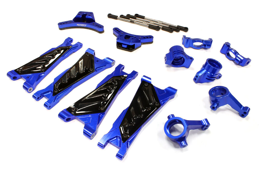 Integy C25642blu Alloy Suspension Kit for Associated ProLite 4X4 Ready-To-Run