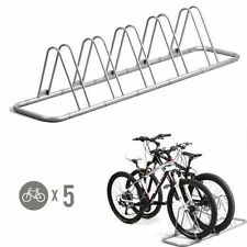 Bike Parking Bicycle Floor Rack Storage Stand 5 Home Garage Stationary Holder