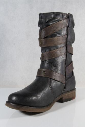 Mustang Damen Stiefelette Stiefel Winterstiefel grau 1295-603-259  NEU!!!