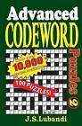Advanced Codeword Puzzles 2 by J S Lubandi (Paperback / softback, 2014)