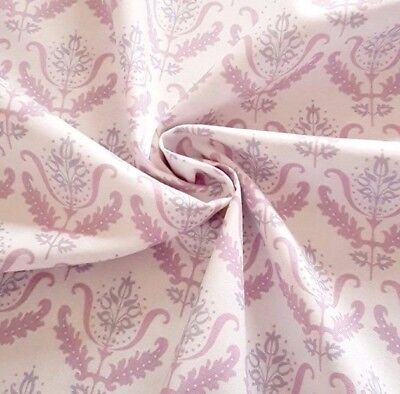 Lilac Autumn Leaves Notting Hill 100/% Cotton Fabric Gutermann Home Decor Flowers