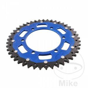Sprocket-Dual-45-Teeth-Pitch-520-Blue-Zf-Suzuki-600-GSX-R-K8-K9-L0-2011-2016